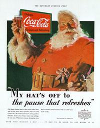 Santa Claus - Campanha Coca-Cola - 1931